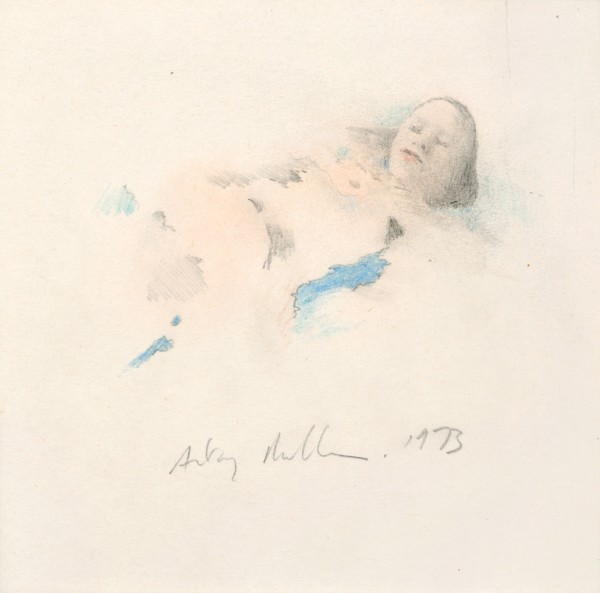 Small Saskia, 1973 Pencil and watercolour on paper 14.5 x 14.5 cm 5 ¾ x 5 ¾ inches
