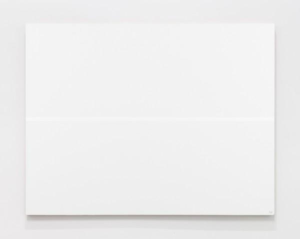 JOSIP VANIŠTA, White line on a white surface, 1968‒1997