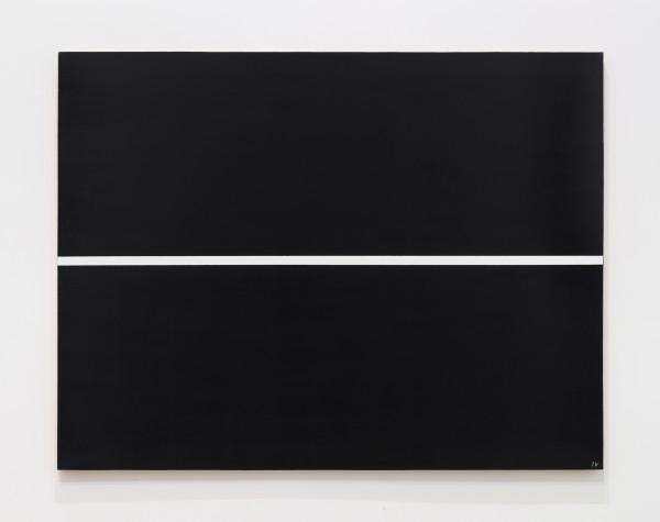 JOSIP VANIŠTA, White line on a black surface, 1968‒1997