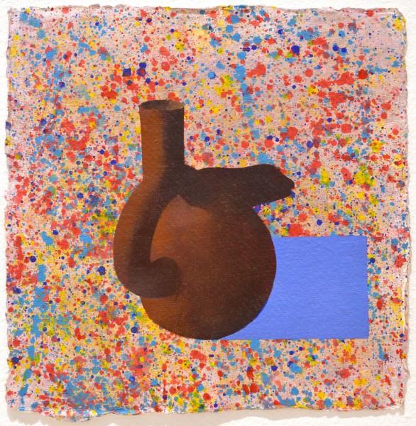 Mochita Lizard, 2017 Acrylic on paper 30 x 30 cm 11 ⅞ x 11 ⅞ inches