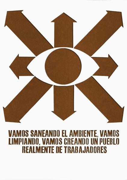 HAMLET LAVASTIDA, Vida Profilactica #21, 2014 X-Acto knife paper cut-out drawing, ed. 1/2 100 x 70 cm 39 3/8 x 27 1/2 inches £2,500.00