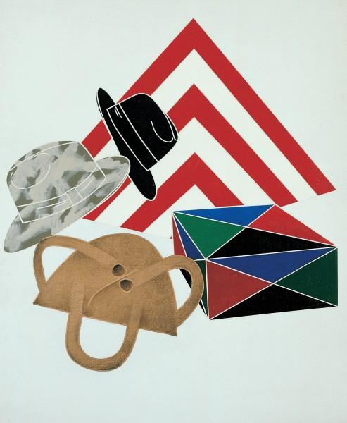 Archeologia / Archaeology, 1972 Acrylic on canvas 100 x 80 cm 39 ⅜ x 31 ½ inches