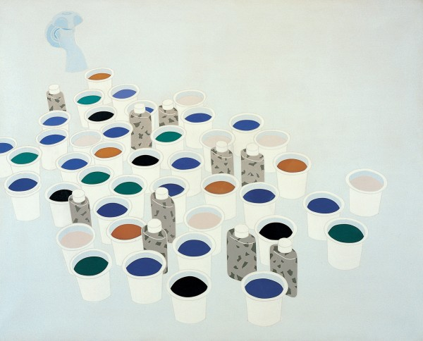 EMILIO TADINI, Paesaggio nello studio. Color & Co. / Landscape in the Studio, 1970