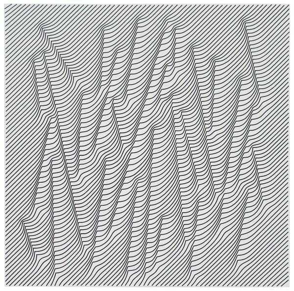 JULIAN STAŃCZAK, Light in the Woods - White, 2009