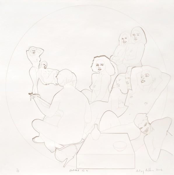 Untitled 12b, 2004 Laser cut paper 60 x 60 cm 23 ⅝ x 23 ⅝ inches