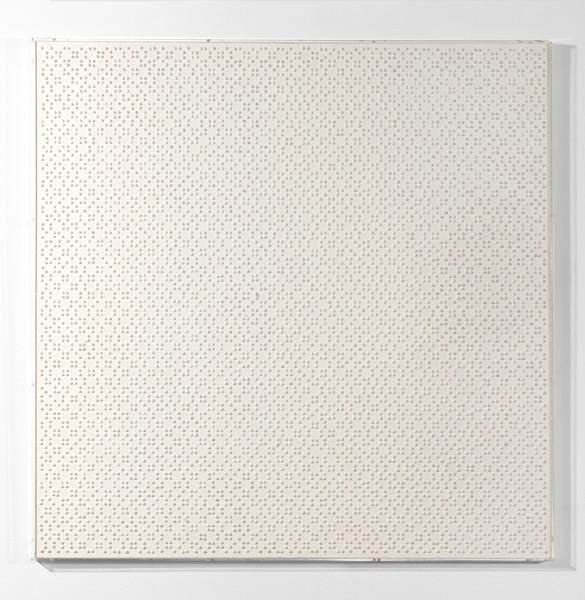 GERHARD VON GRAEVENITZ, Homogene Struktur mit pos.elementen, 1961