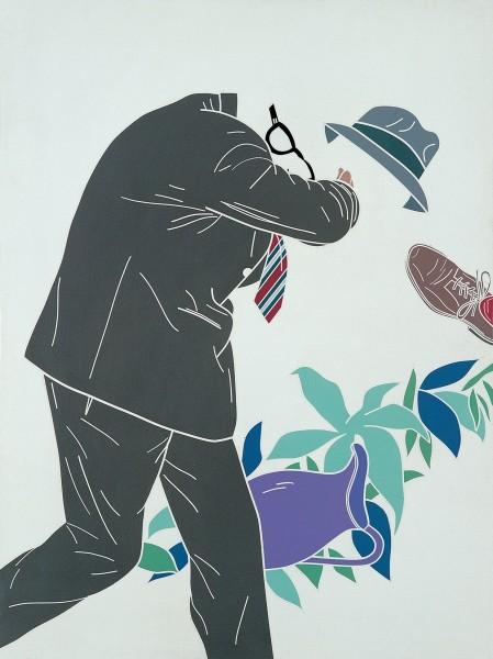 EMILIO TADINI, L'uomo dell'organizzazione. L'uscita dall'Eden / The Man of the Organisation. The Exit from Eden, 1968