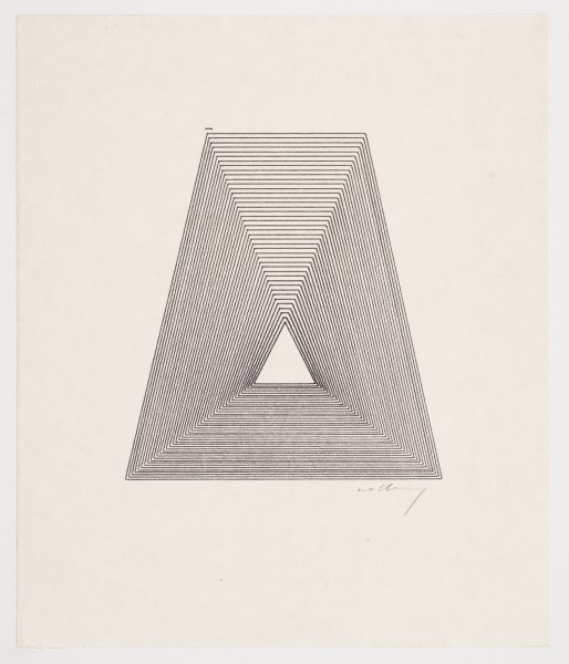 ROBERT MALLARY, Incremental series, 1970