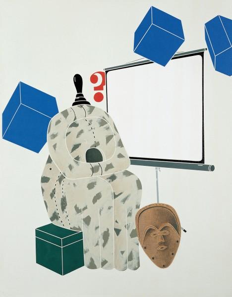 EMILIO TADINI, Archeologia (Con de Chirico) / Archaeology (With de Chirico), 1972