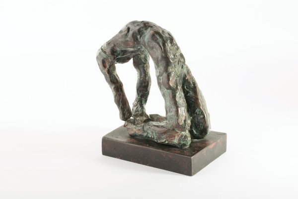 IVOR ABRAHAMS, Arching figure, 1982-6