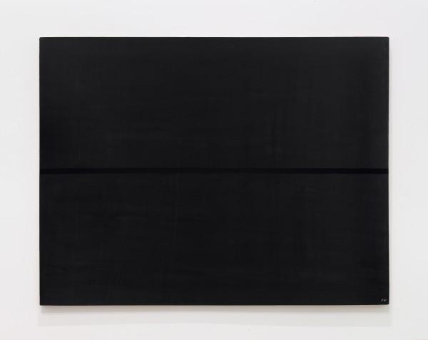 JOSIP VANIŠTA, Black line on a black surface, 1968‒1997