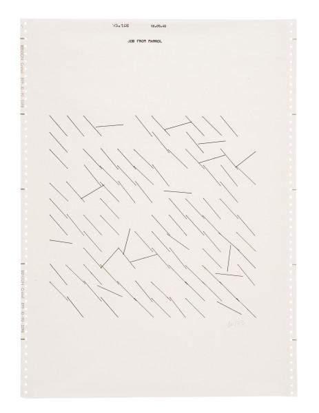 VERA MOLNÁR, Untitled, 1973