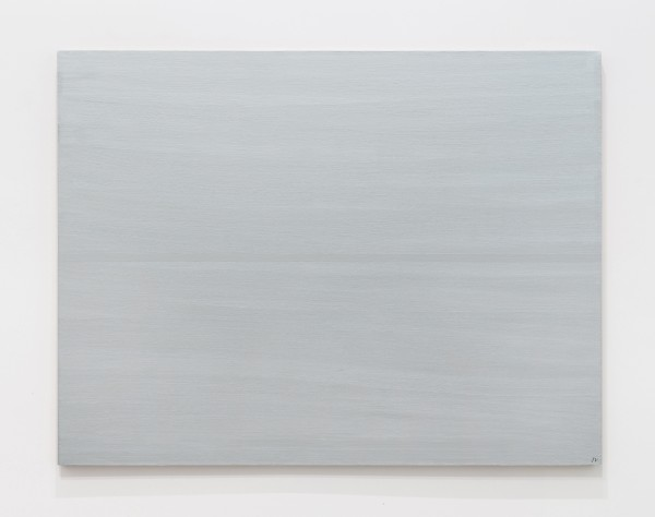 JOSIP VANIŠTA, Silver line on a silver surface, 1968‒1997