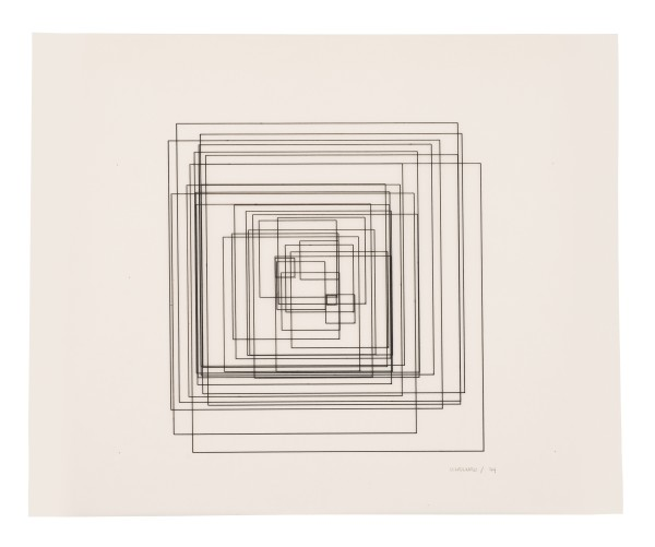 VERA MOLNÁR, Untitled, 1974
