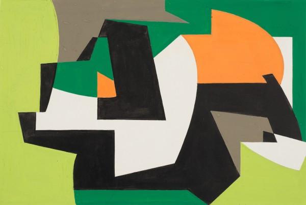 WIFREDO ARCAY, Untitled, c. 1950