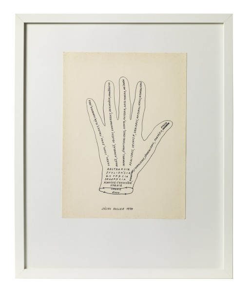 JULIUS KOLLER, Untitled (Hand), 1970