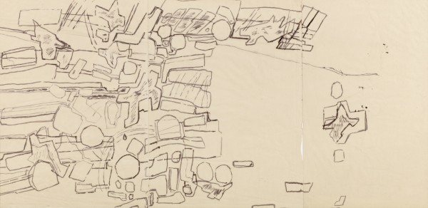 CORNEILLE, Untitled, 1961-62 Ink on paper 33 x 65 cm 13 x 25 ½ inches