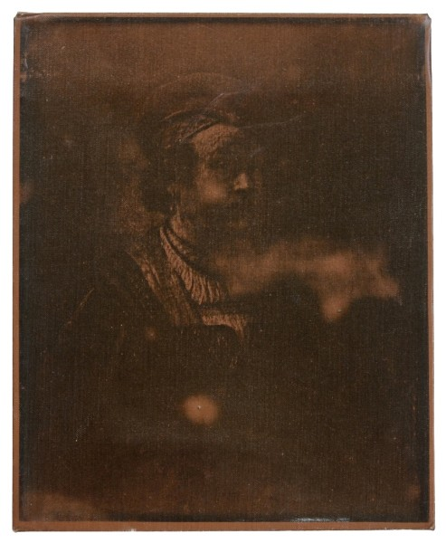 BILLY APPLE, Portrait of Rembrandt, 1964