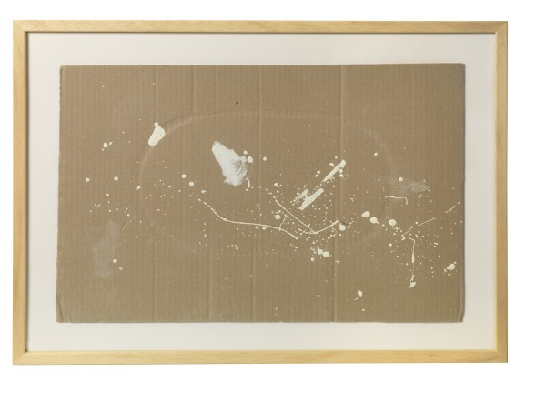 JULIUS KOLLER, Untitled (Cardboard), 2005