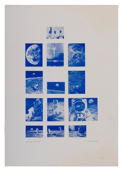 STANO FILKO, Association XXXI. - 1st Flight - Moon, 1969