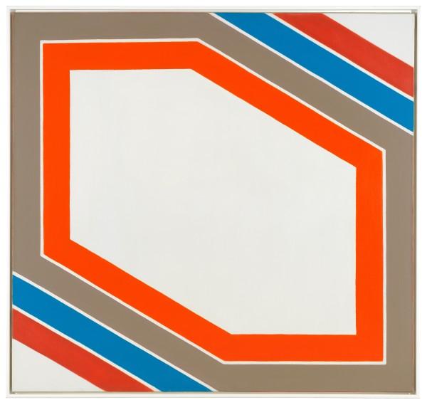 IMRE BAK, Stripes VII, 1967