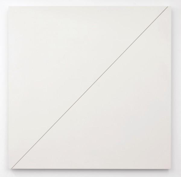 AD DEKKERS, Verschoven diagonaal als zaagsnede / Shifted diagonal, 1972