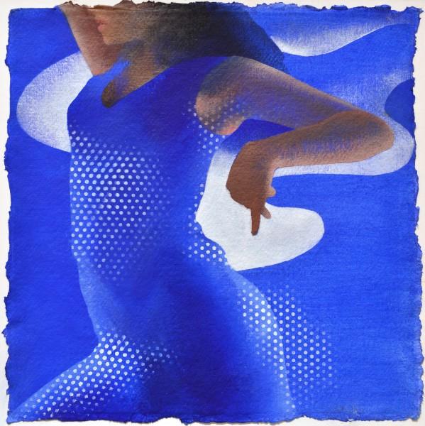 Gitane, 2012 Acrylic on paper 30 x 30 cm 11 ⅞ x 11 ⅞ inches