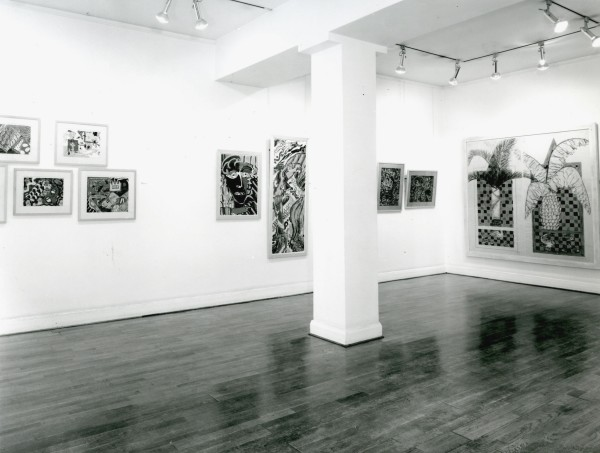 PATTERN AND DECORATION ON PAPER Installation View