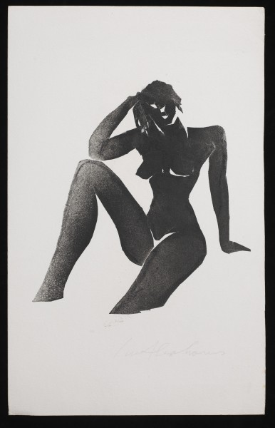 IVOR ABRAHAMS Naiades series, 1980 Monotype on paper 45 x 29 cm (17 3/4 x 11 3/8 in) £750