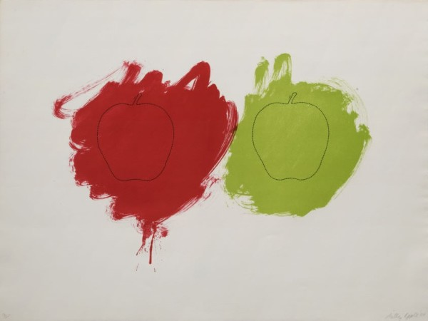 BILLY APPLE Cut, 1964 Offset lithography on paper 58 x 77 cm (22 3/4 x 30 1/4 in) £6,000