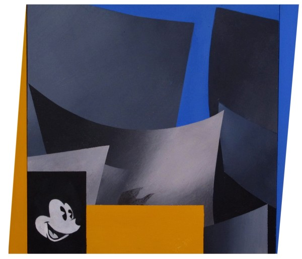 ANTONY DONALDSON Disney to Go, 2011-12 Acrylic on board 33 x 33 cm (13 x 13 in) £10,000
