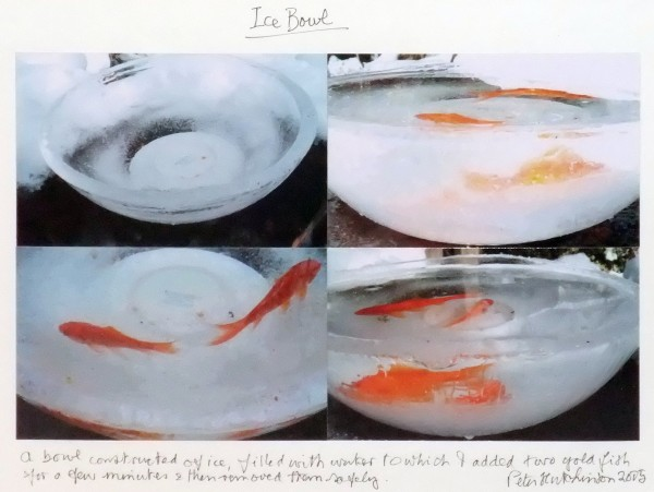 PETER HUTCHINSON Ice Bowl, 2005 Collage 26.5 x 33.5 cm (10. 1/2 ins x 13 1/4 in) £1,500
