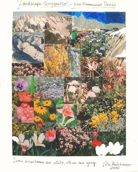 PETER HUTCHINSON Landscape Comparative, 2001 Photocollage 33 x 27 cm (13 x 10 5/8 in) £1,500