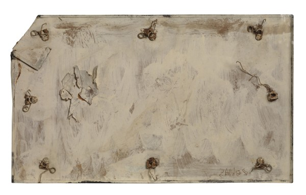 HERBERT ZANGS Untitled (Collages-Objects), 1980 Mixed media 29 x 49 cm (11 1/2 x 19 1/4 in) £8,000
