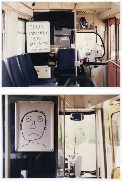 DAVID SHRIGLEY, Untitled, 1997 Set of 2 photographs, ed. 5/10 14.5 x 20 cm 5 3/4 x 7 7/8 inches £8,000.00