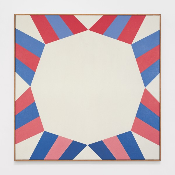 Untitled, 1967 Oil on canvas 100 x 100 cm 39 ⅜ x 39 ⅜ inches