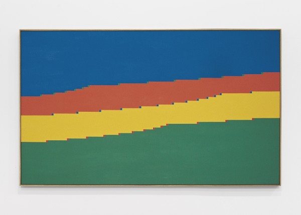 Untitled, 1973 Oil on canvas 81 x 136 cm 31 ⅞ x 53 ½ inches
