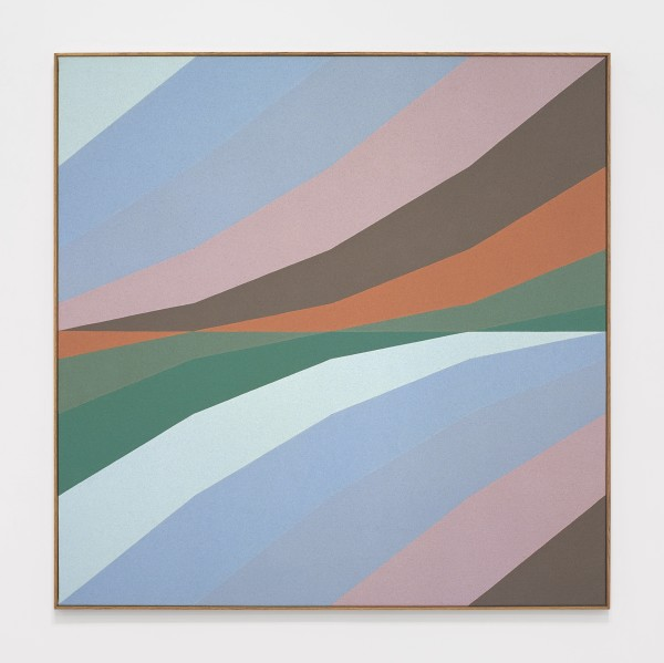 Untitled, 1975 Oil on canvas 100 x 100 cm 39 ⅜ x 39 ⅜ inches