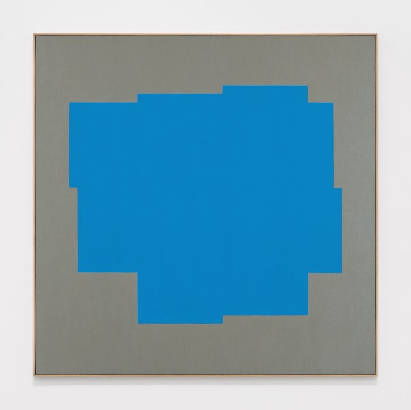 Untitled, 1983 Oil on canvas 100 x 100 cm 39 ⅜ x 39 ⅜ inches