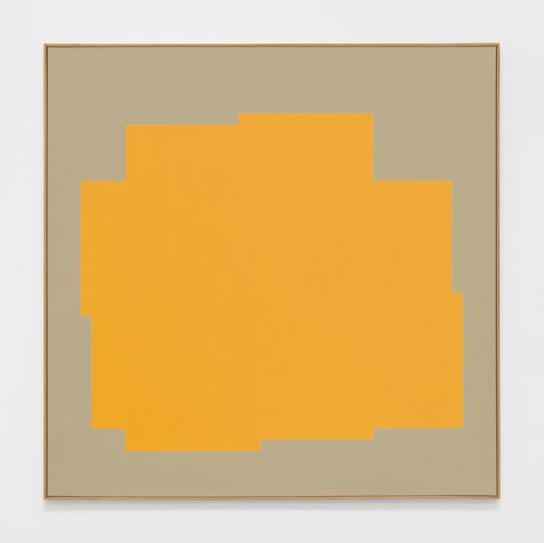 Untitled, 1984 Oil on canvas 100 x 100 cm 39 ⅜ x 39 ⅜ inches