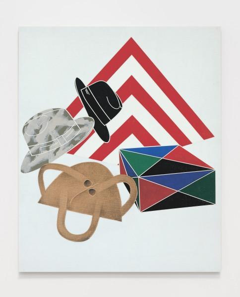 Archeologia / Archaeology 1972 Acrylic on canvas 100 x 80 cm 39 ⅜ x 31 ½ inches