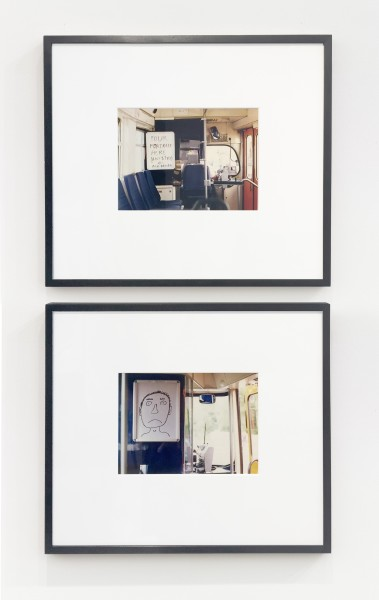DAVID SHRIGLEY, Untitled, 1997 Set of 2 photographs, edition 14.5 x 20 cm each 5 ¾ x 7 ¾ inches each