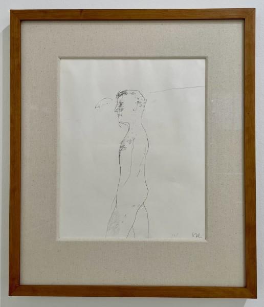 David Hockney, Untitled 'Study for Jungle Boy', 1963