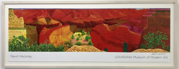 David Hockney, A Closer Grand Canyon, 2011