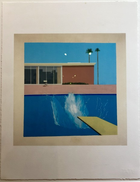 David Hockney, David Hockney 'A Bigger Splash' Tate Portfolio Edition, 2017