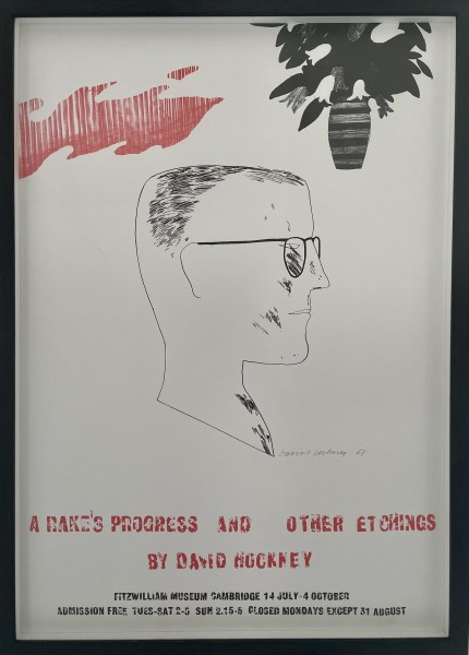 David Hockney, A Rakes Progress and other Etchings, 1987