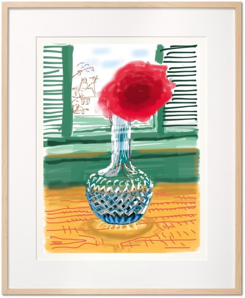 David Hockney, David Hockney. My Window. Art Edition (No. 251–500) 'No. 281', 23rd July 2010, 2019
