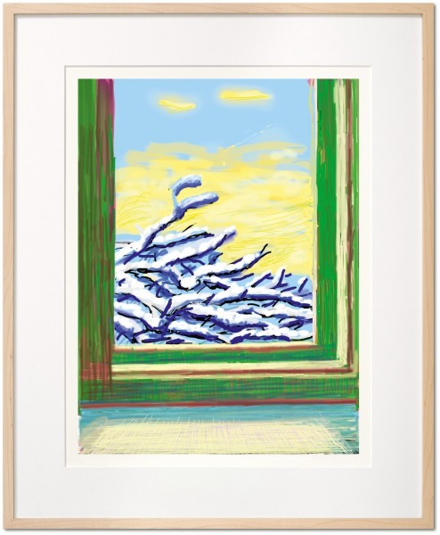 David Hockney, David Hockney. My Window. Art Edition (No. 501–750) 'No. 610', 23rd December 2010, 2019