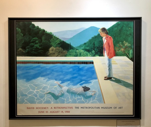 David Hockney, Portrait of an Artist (Pool with Two Figures), 1988