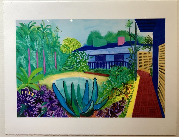 DAVID HOCKNEY, DAVID HOCKNEY 'GARDEN' TATE PORTFOLIO EDITION, 2017, 2017